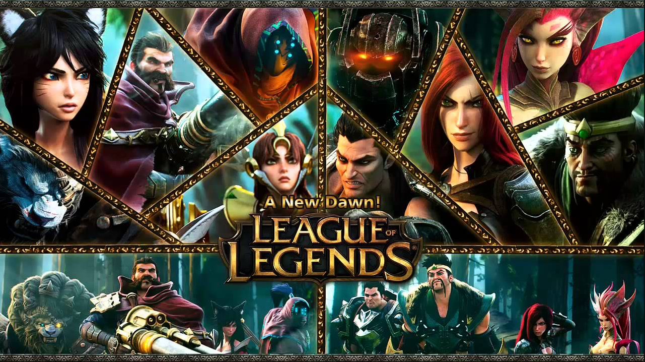 a new dawn League Of Legends