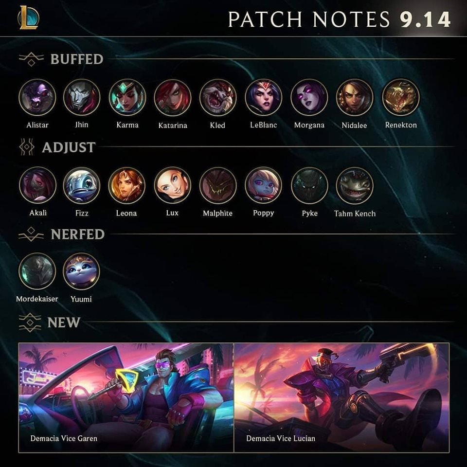 9.14 LoL Patch Notes: Revolutionary Changes Incoming